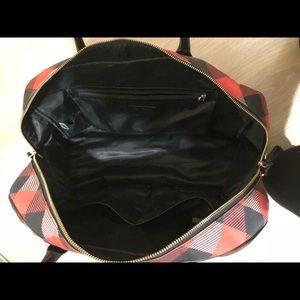 Vera Bradley Bags - Vera Bradley Plaid Weekend Bag w/ some leather